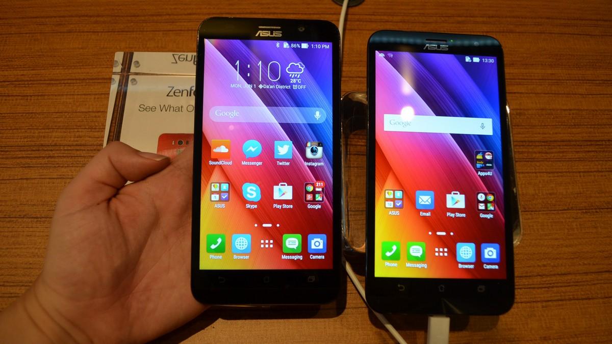 Asus dévoile un ZenFone 2 de 6 pouces, cette fois équipé chez Qualcomm