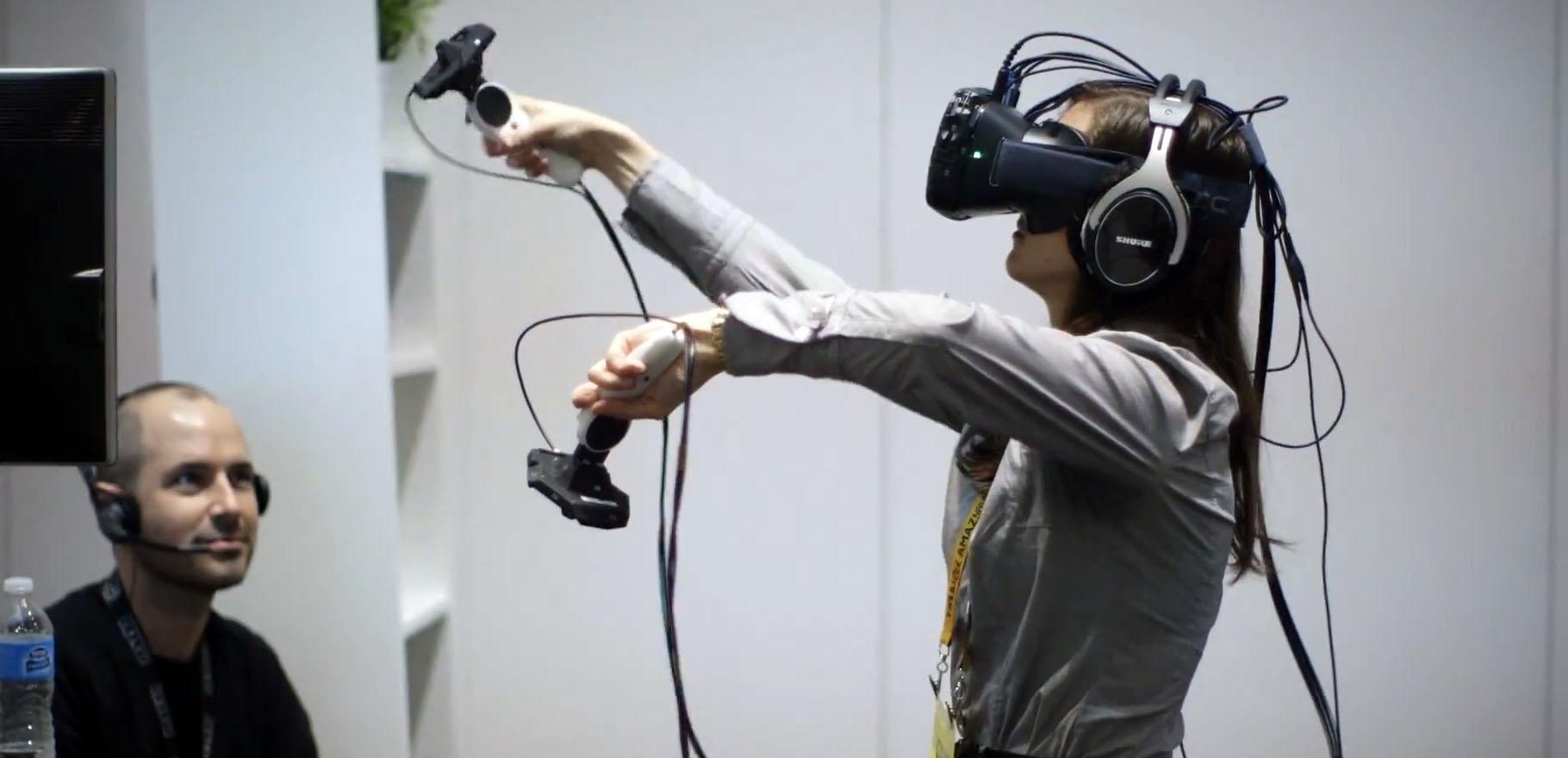 Le casque de réalité virtuelle HTC Vive pourra être testé lors de la Paris Games Week