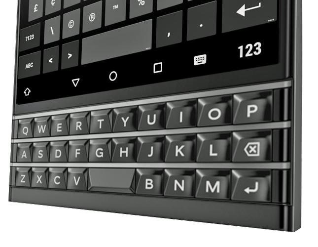 [MAJ] Une première image du BlackBerry Venice, le slider sous Android