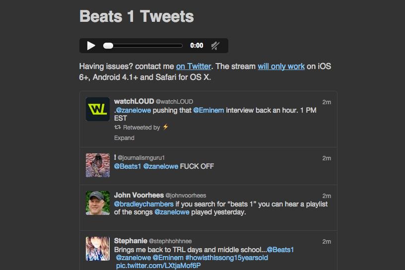 Beats 1 fait une première incursion sur Android par une porte dérobée