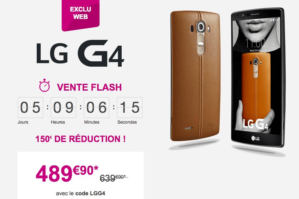 Bon plan : Le LG G4 en cuir est à 489,90 euros