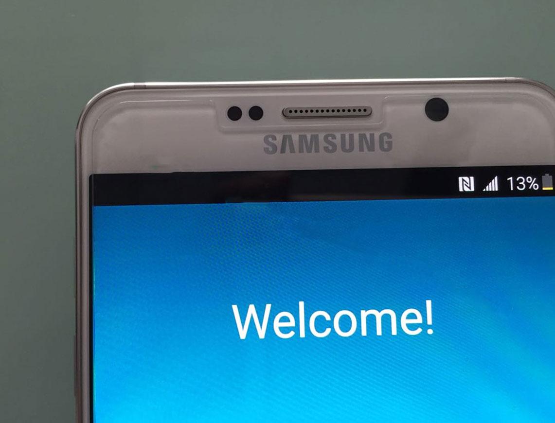 De nouvelles photos en fuite pour les Samsung GalaxyS6 EDGE+ et Galaxy Note5