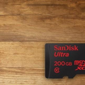 Test de la carte microSD SanDisk Ultra 200 Go, la plus grosse capacité du marché