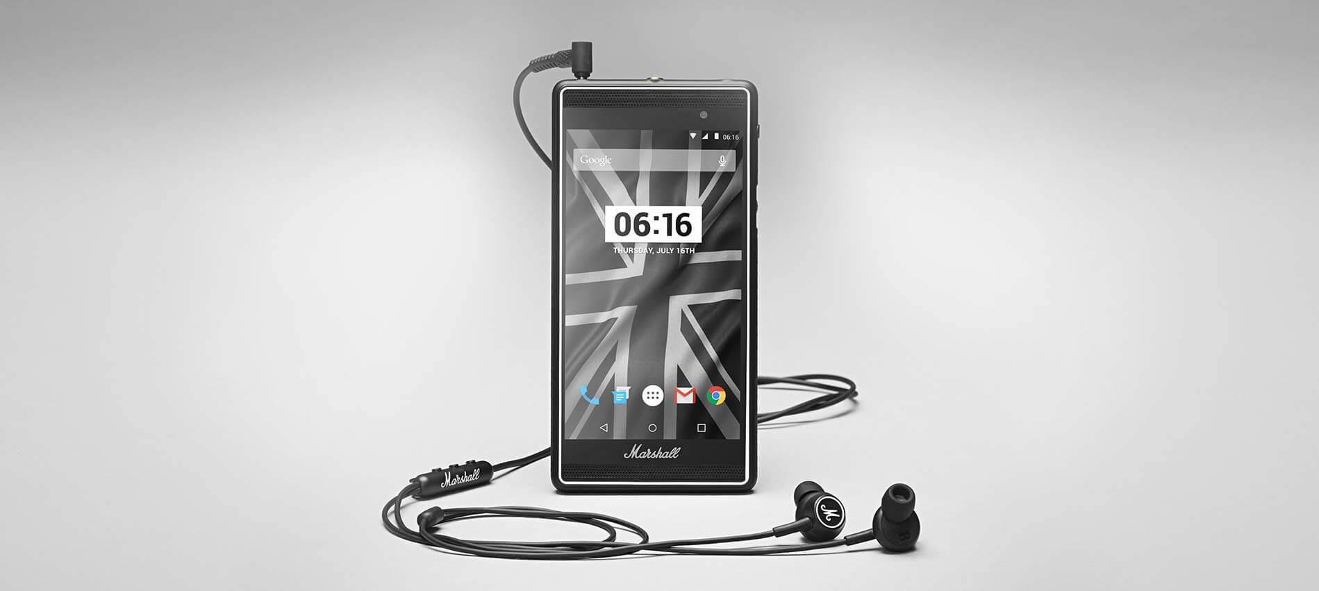 Marshall London, le smartphone dédié aux amoureux de la musique