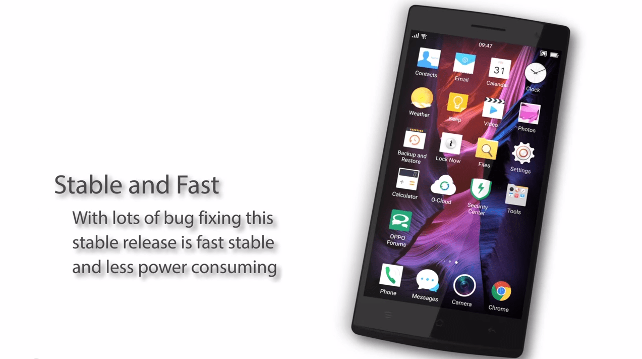 Oppo Find 7/Find 7a : Lollipop arrive enfin en version stable avec Color OS 2.1.3i
