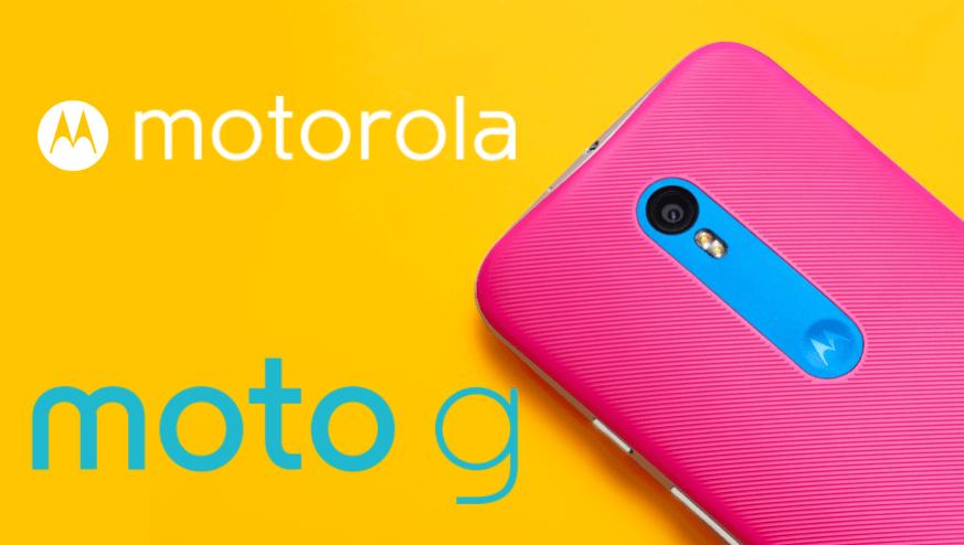 Bon plan : le Motorola Moto G (3e gen) baisse de prix à 159 euros