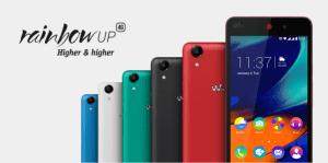 Le Wiko Rainbow Up 4G arrive dans le commerce au prix de 149,99 euros