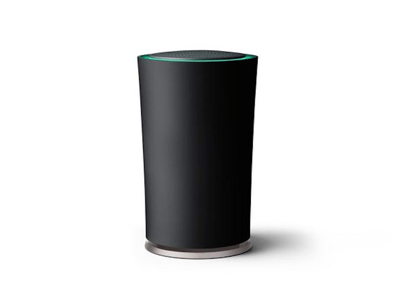 Google OnHub, le curieux routeur à la forme cylindrique