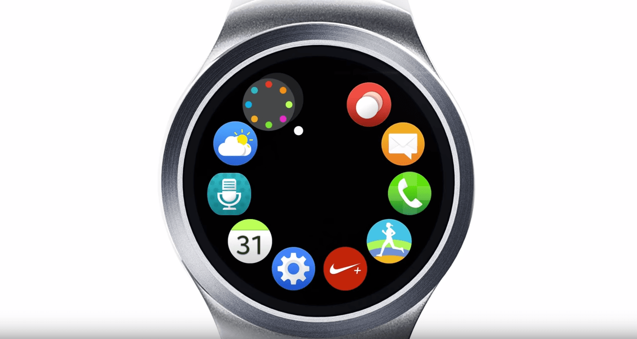 Samsung Gear S2 : son interface se laisse découvrir en vidéo