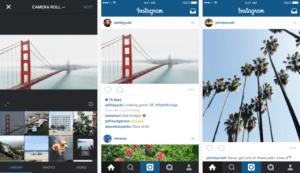 Instagram autorise maintenant les photographies plein format
