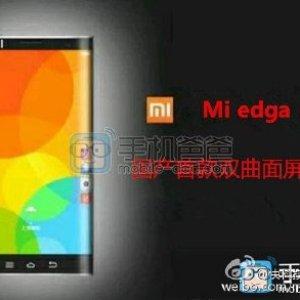 Xiaomi Mi Edge, un possible concurrent pour le Samsung Galaxy S6 edge ?