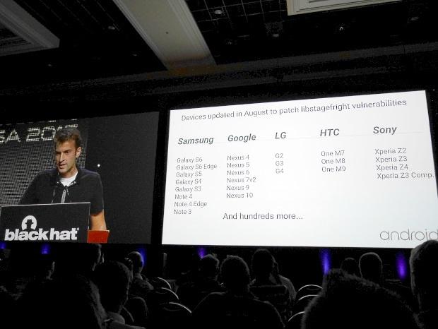 Stagefright : Google publie la liste des appareils mis à jour en août