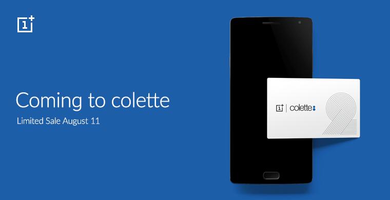 OnePlus 2 : en exclusivité chez Colette à Paris pour le lancement