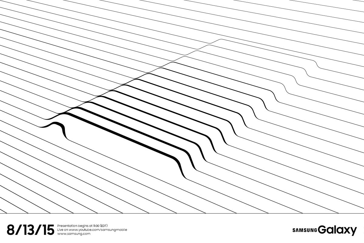 C'est officiel, la conférence Samsung du 13 août portera sur le prochain Note