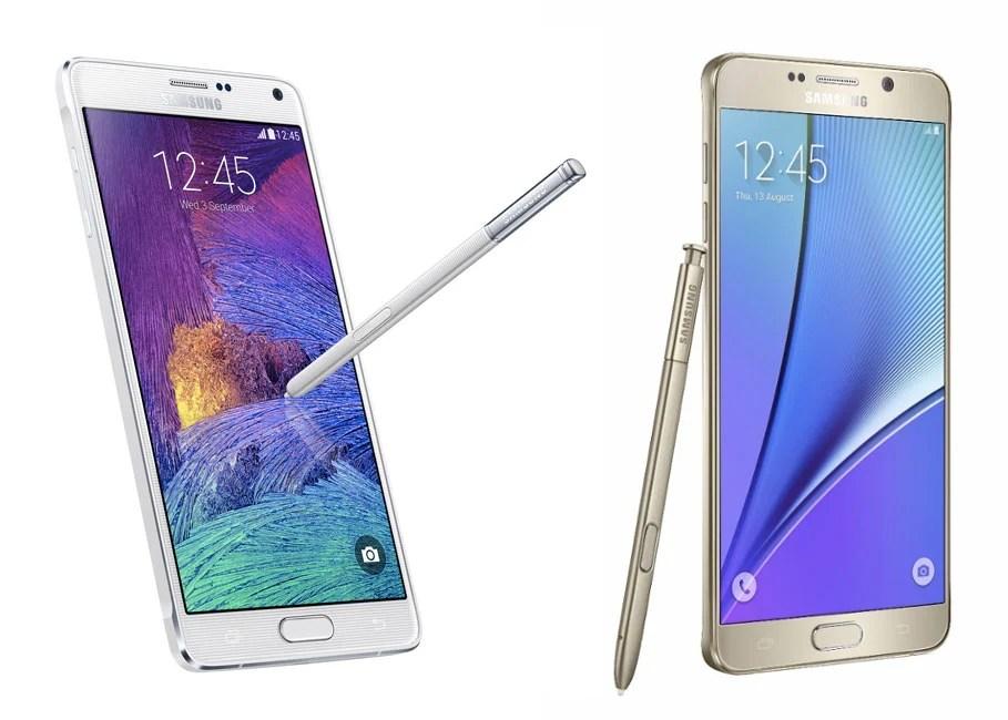Samsung Galaxy Note 6, un changement radical d'écran ?