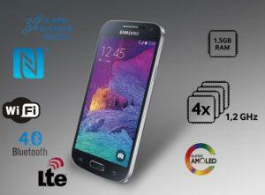 Samsung a discrètement commercialisé une nouvelle version du GalaxyS4 Mini, un peu plus puissante