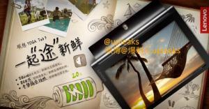 Lenovo Yoga Tablet 3 : deux images commerciales de la tablette avant son officialisation
