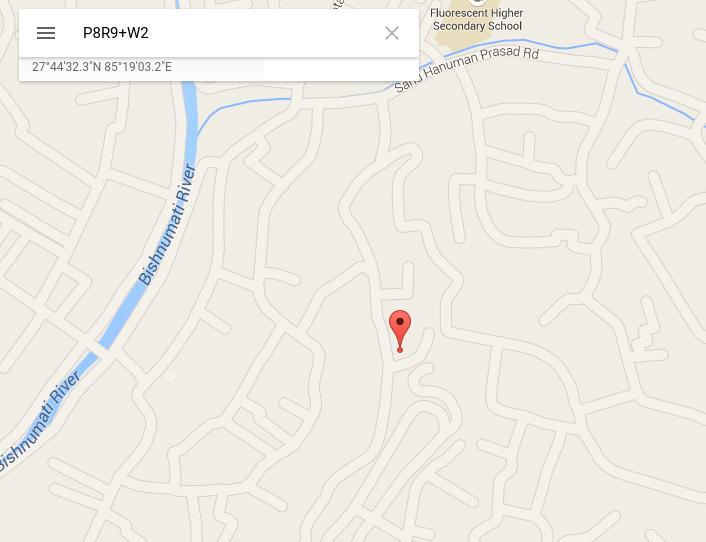 Google Maps veut vous aider à trouver les adresses… sans adresse