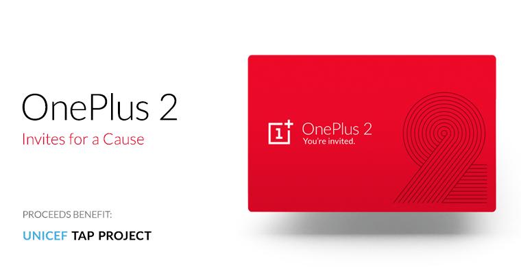 OnePlus met aux enchères des invitations pour le OnePlus2 au profit de l'UNICEF