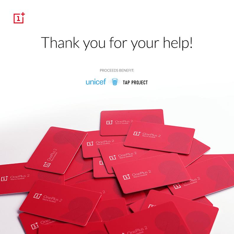 OnePlus récolte plusieurs dizaines de milliers de dollars pour l'UNICEF