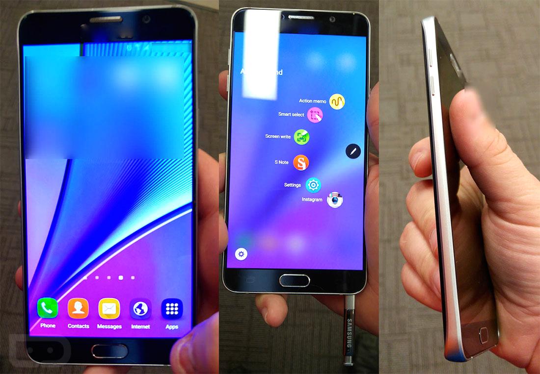 Samsung Galaxy Note5 : une nouvelle fuite d'images confirme une batterie de 3000mAh