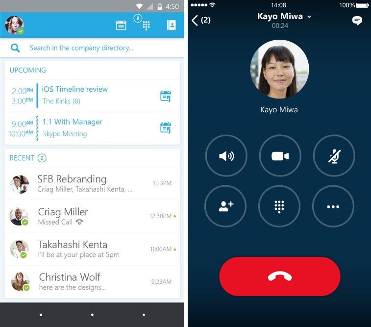 Skype for Business, la nouvelle version de Lync, passe en bêta-test sur Android