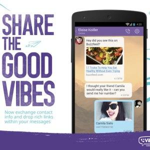 Viber 5.5 met l'accent sur le partage de contenus entre ses utilisateurs