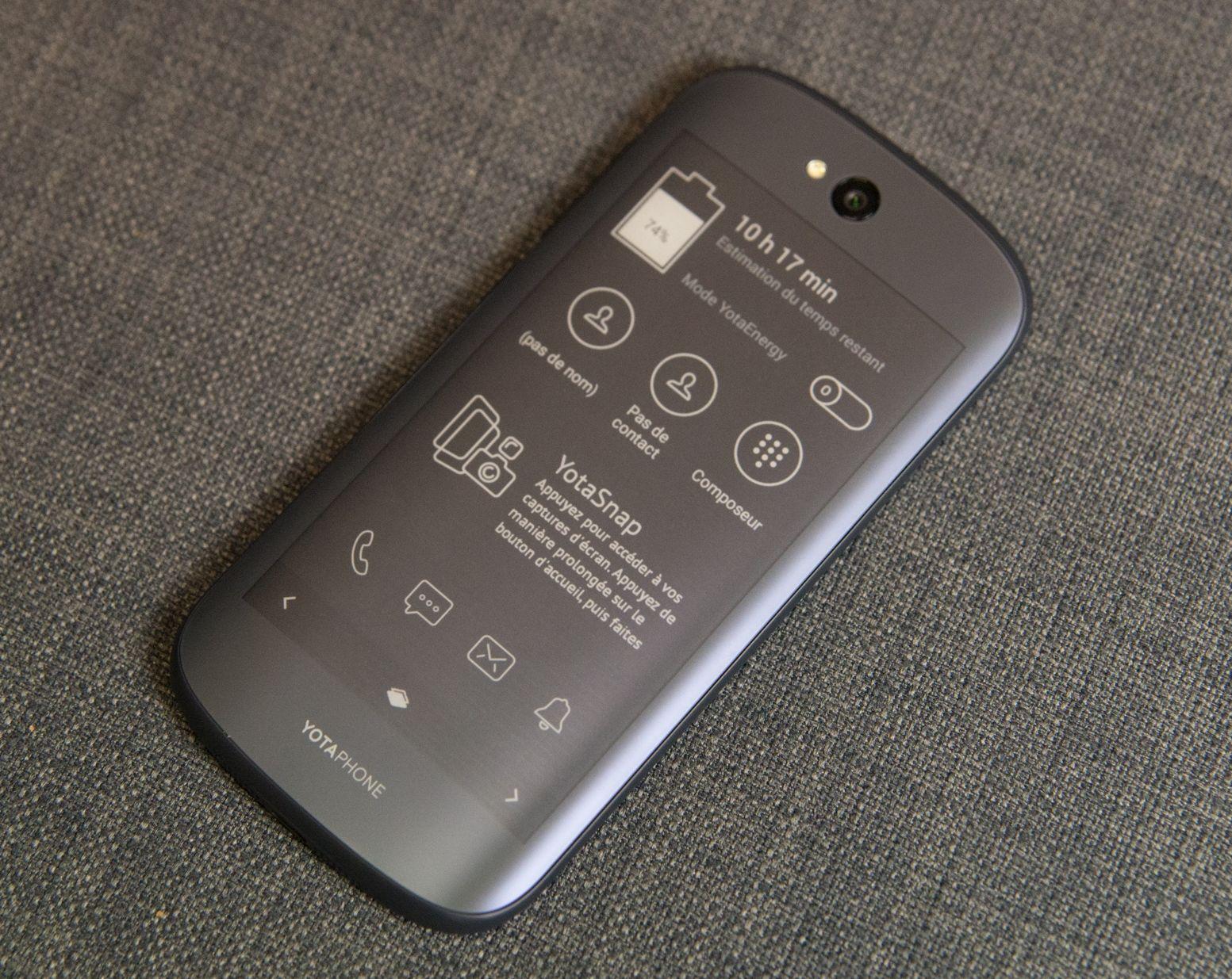 Le YotaPhone2 ne sera finalement jamais lancé aux États-Unis