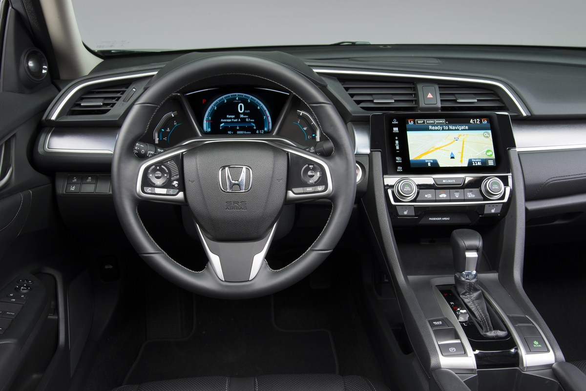 La nouvelle Honda Civic 2016 supportera Android Auto et Car Play