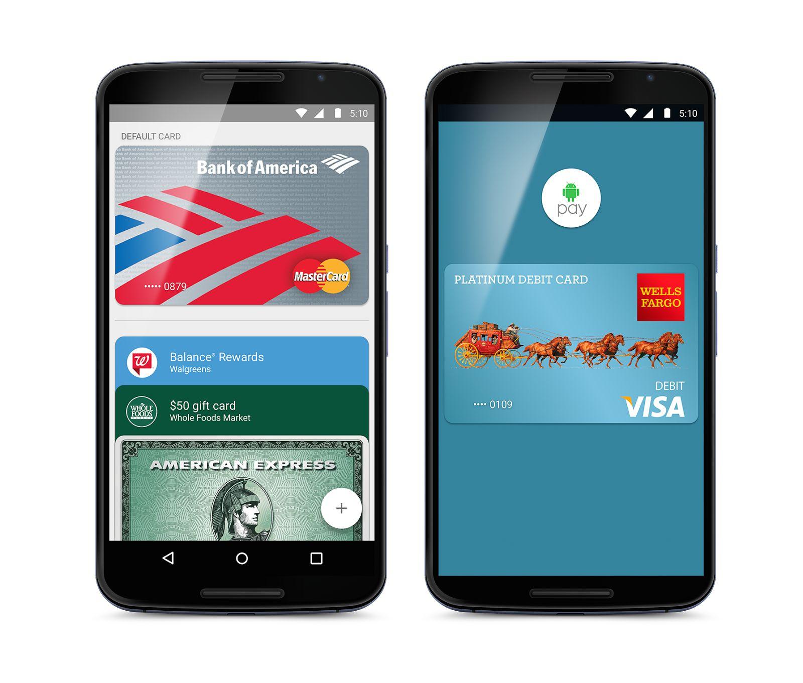 Google lance enfin Android Pay aux États-Unis