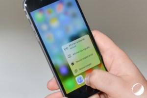 Vidéo : Prise en main de 3D Touch (Force Touch) sur l'iPhone 6s d'Apple