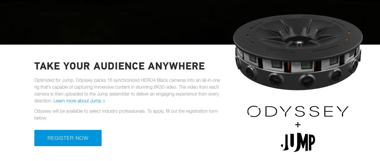 GoPro Odyssey : les 16 GoPro sont en vente à 15 000 dollars