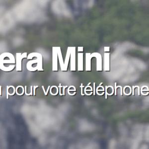 Le navigateur mobile Opera Mini propose un nouveau mode de compression