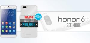 Bon plan : le Honor 6+ est à 299,99 euros (au lieu de 399 euros) aujourd'hui seulement