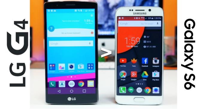 Bon plan : Le LG G4 à 435 euros (avec 62 euros en bons d'achat) et le Galaxy S6 à 479 euros (avec 74 euros en bons d'achat)