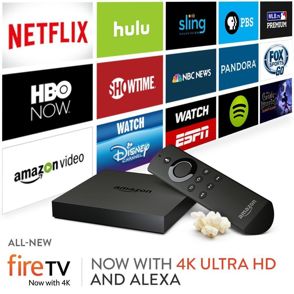 La nouvelle Amazon Fire TV supporte la 4K et améliore la recherche vocale