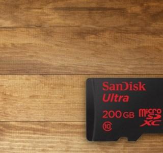 Jeu-concours SanDisk : tentez de remporter 3 cartes SanDisk Ultra MicroSDXC de 200 Go
