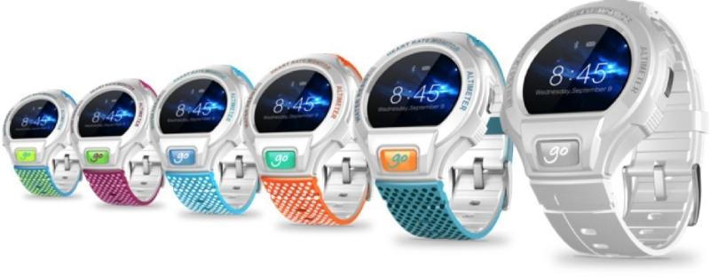 Alcatel OneTouch Go Watch : une montre connectée sportive et résistante à l'eau