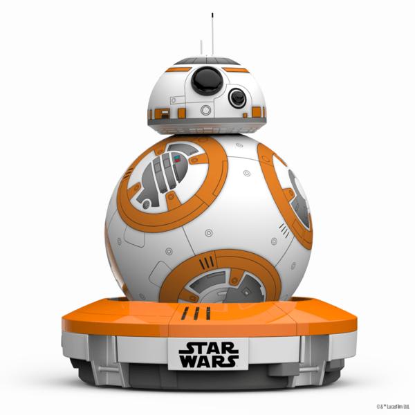 Sphero BB-8, le robot connecté aux couleurs du prochain Star Wars