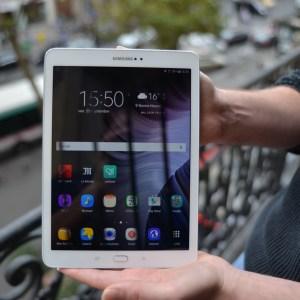 Test de la Samsung Galaxy TabS2 9.7, la tablette la plus fine au monde