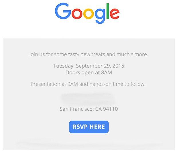 C'est officiel, Google prévoit un événement le 29 septembre prochain