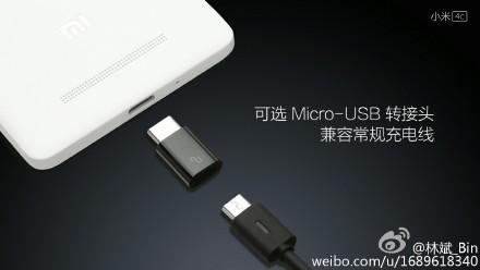 Il y aura bien du micro-USB type-C dans le Xiaomi Mi 4c