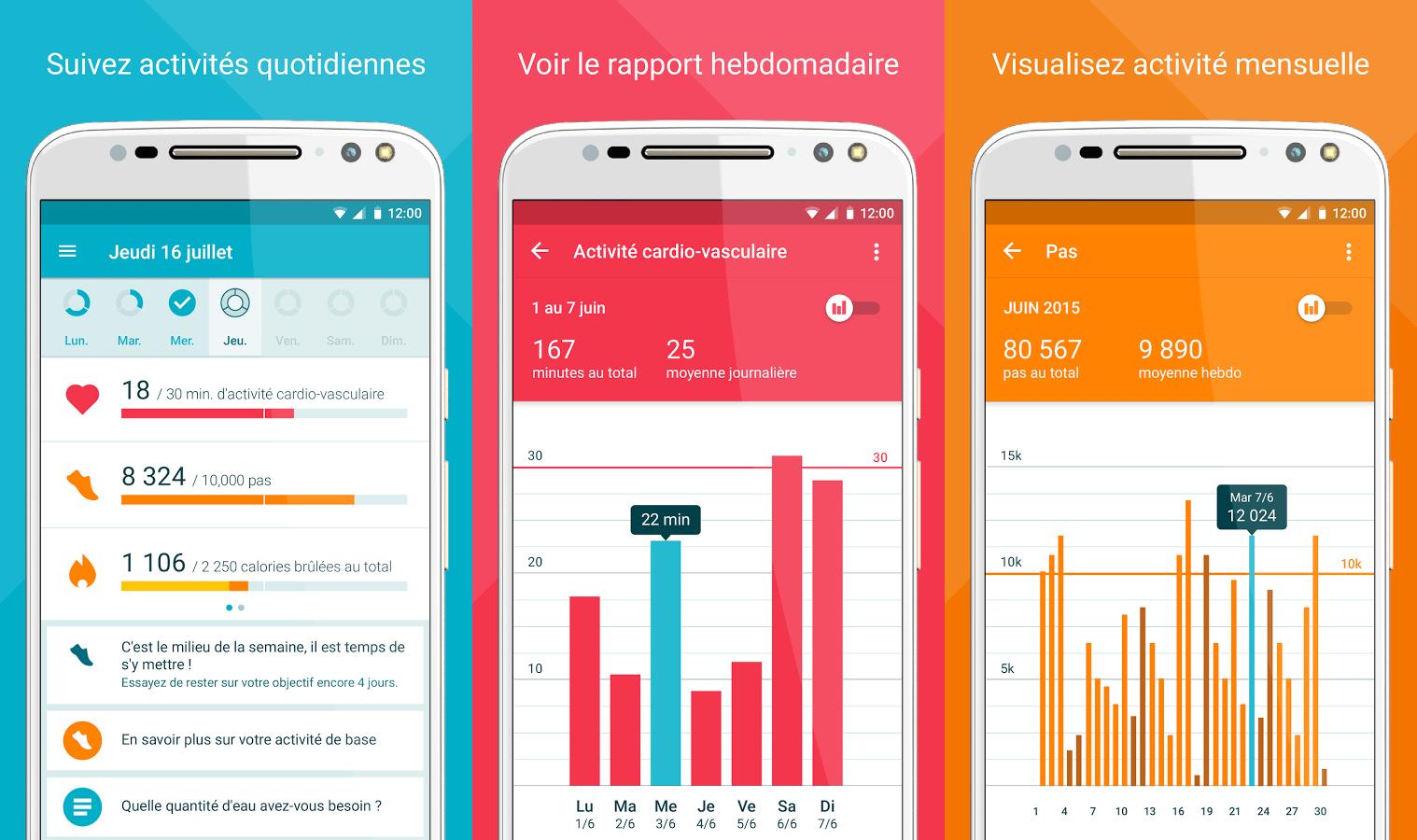Motorola lance Moto Body, une app fitness dédiée à la Moto 360