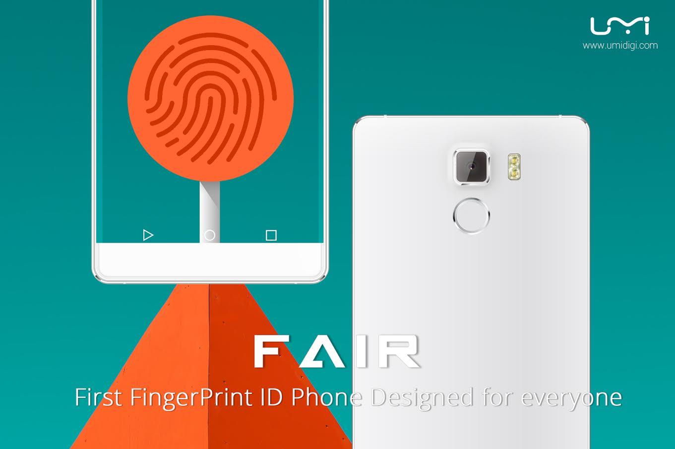 UMI Fair, un lecteur d'empreintes dans un smartphone à moins de 100 euros