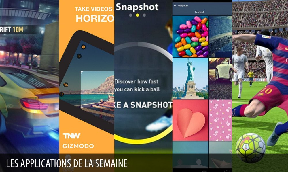 Les apps de la semaine : Need for Speed™ No Limits, FIFA 16 Ultimate Team…