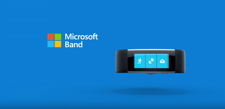 Microsoft Band 2, le nouveau bracelet connecté tout en courbes