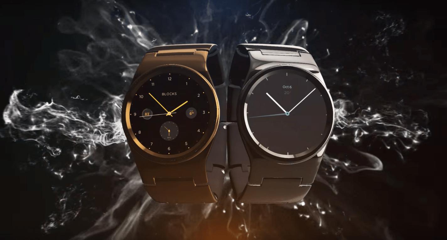 Blocks se concrétise enfin : la montre modulaire arrive sur Kickstarter