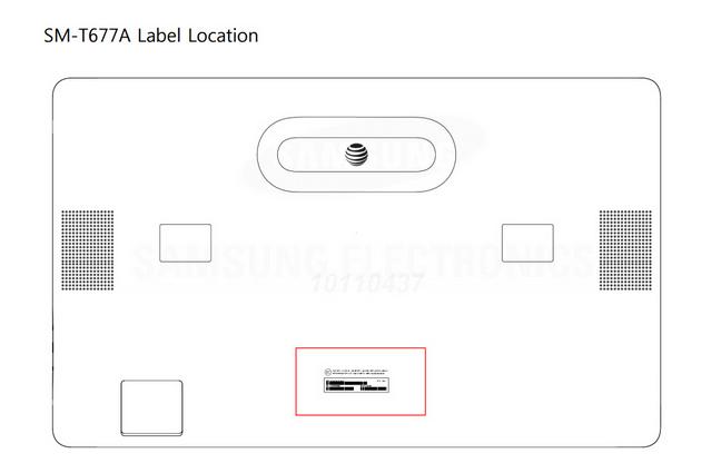 La Samsung Galaxy View, de passage à la FCC, montre sa compatibilité avec la 4G