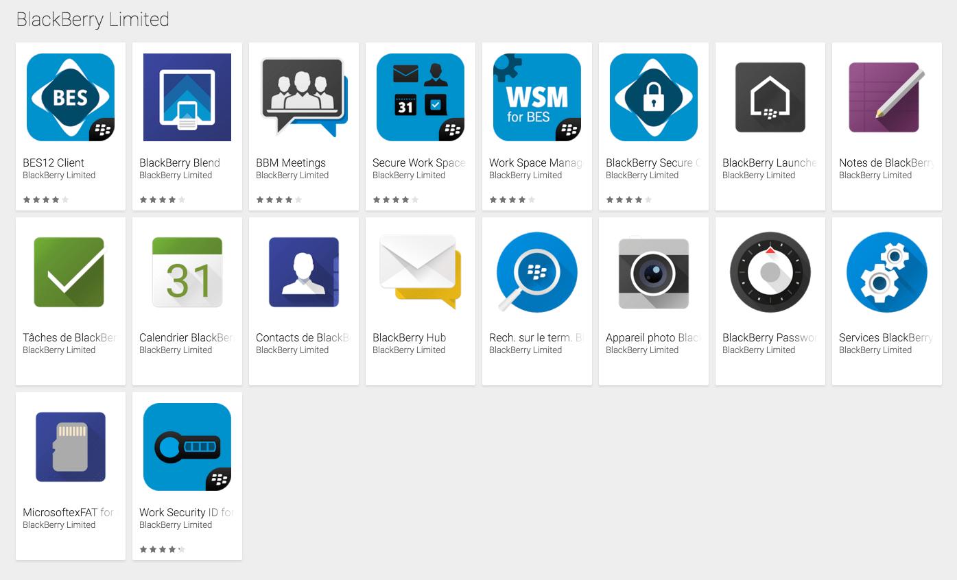 BlackBerry Priv, le Google Play est prêt à l'accueillir