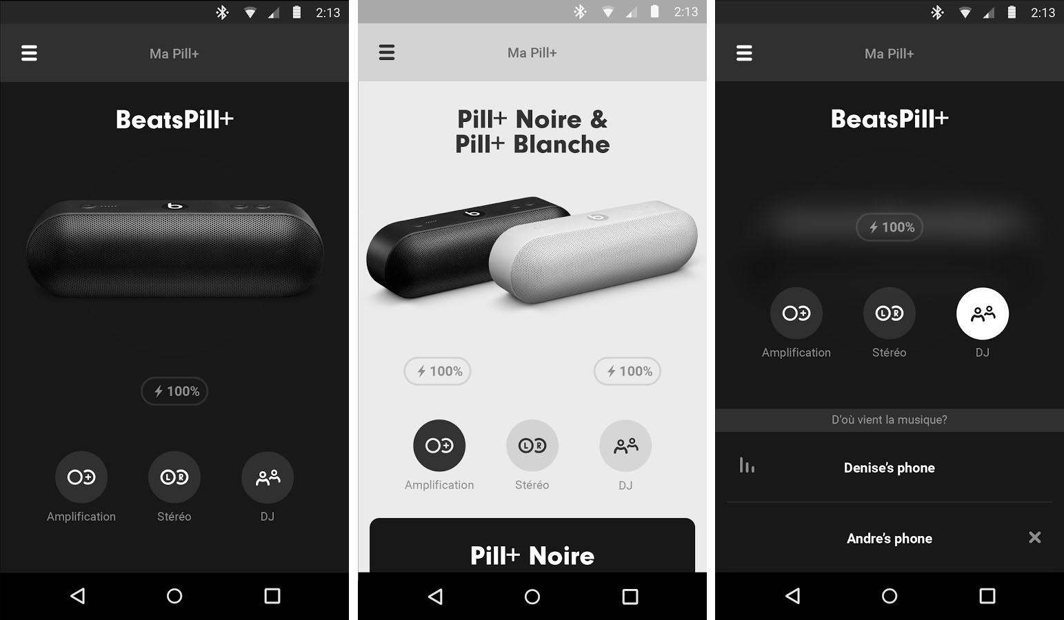 La seconde application Android d'Apple concerne la Beats Pill+